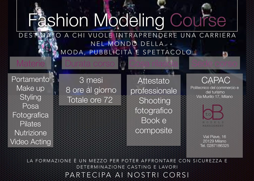 Fashion Modeling Course